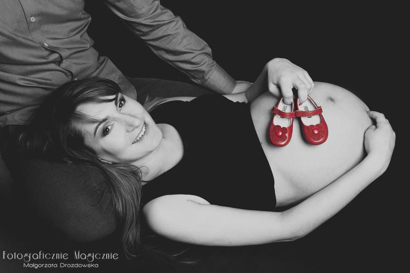 fotografie ciążowe studio we wrocławiu
