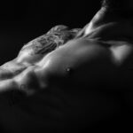 Męska fotografia sensualna