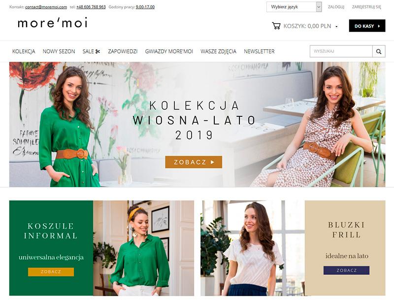 Sesja zdjęciowa lookbook dla More'Moi